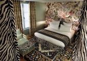 dormitorio diseno original hotel paris