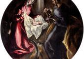 La Natividad es una obra del famoso pintor El Greco