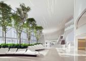 interior elegante espacio enorme