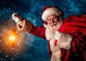 Papa Noel trae muchos regalos