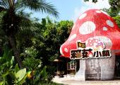 restaurant curioso dentro parque