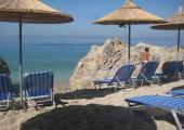 playa rocosa vacaciones relajantes