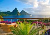 hoteles lujo caribenos terreno montanoso