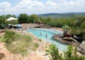 piscina air libre resort africa