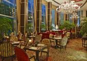 elegante restaurante frances hotel singapur