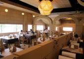 restaurante mesas sillas de carton