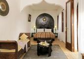 dormitorio con sala pequena