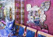 sala diseno colores brillantes