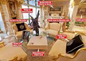 casa magnate trump decorada con estilo