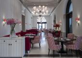 comedor elegante hotel lujo