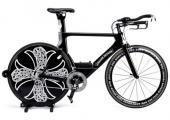 bicicleta carrera obra arte
