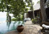 piscina privada villa hotel camboya