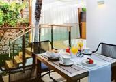 suite amplio terraza jardin