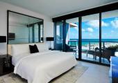 vistas oceano desde dormitorio