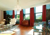 enorme suite lujo glamour