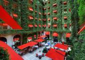 coqueto restaurante hotel lujoso