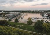 vistas magnificas desde hotel montreal