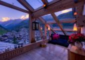 vistas magnificas pueblo montana cielo
