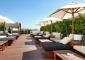 piscina ubicada azotea hotel barcelona