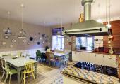 cocina comedor soul kitchen hostel