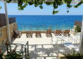 desayuno terraza hotel playero albania