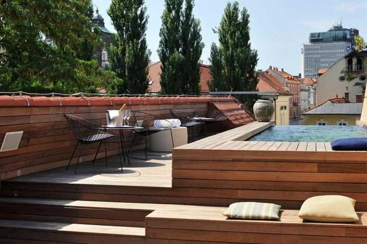 El coqueto hotel de dise o vander urbani resort ofrece for Construir alberca en azotea