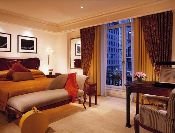 Pasar las vacaciones en un hotel de lujo hotel the for Imagenes de habitaciones de hoteles de lujo