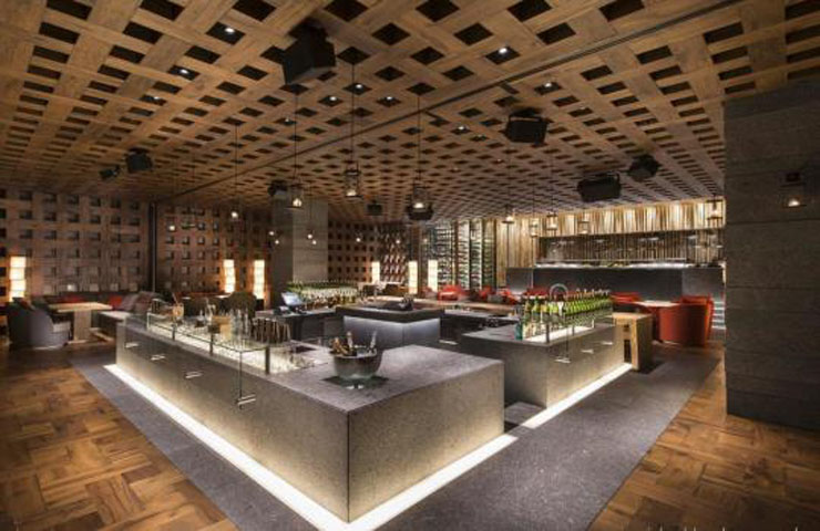 Un hotel en el para so turco que va a satisfacer todos los for Cocinas de restaurantes modernos